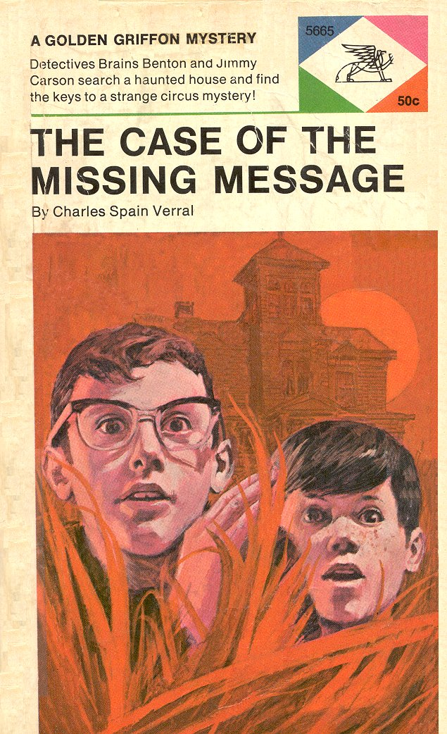Missing Message paperback