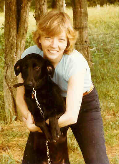 The original Mutt with Linda my sister